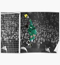 Manchester United's David de Gea Poster