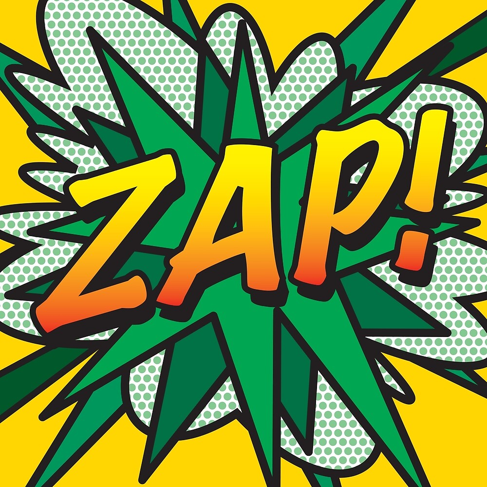 Comic Book Pop Art ZAP! by Thisis notme