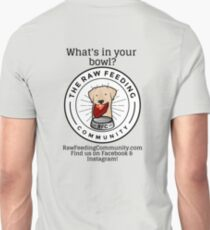 """RFC """"What's in your bowl?"""" Lab logo shirts T-Shirt"""