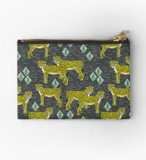 Gepard-Safarikindergarten scherzt Tiernaturmuster-Druckgeschenke Studio Clutch