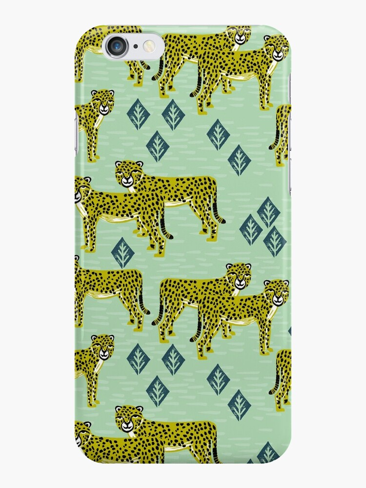 Cheetah safari nursery kids animal nature pattern print gifts  by Andrea Lauren