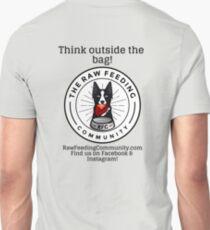 "RFC ""Think outside the bag"" Border Collie logo shirts T-Shirt"