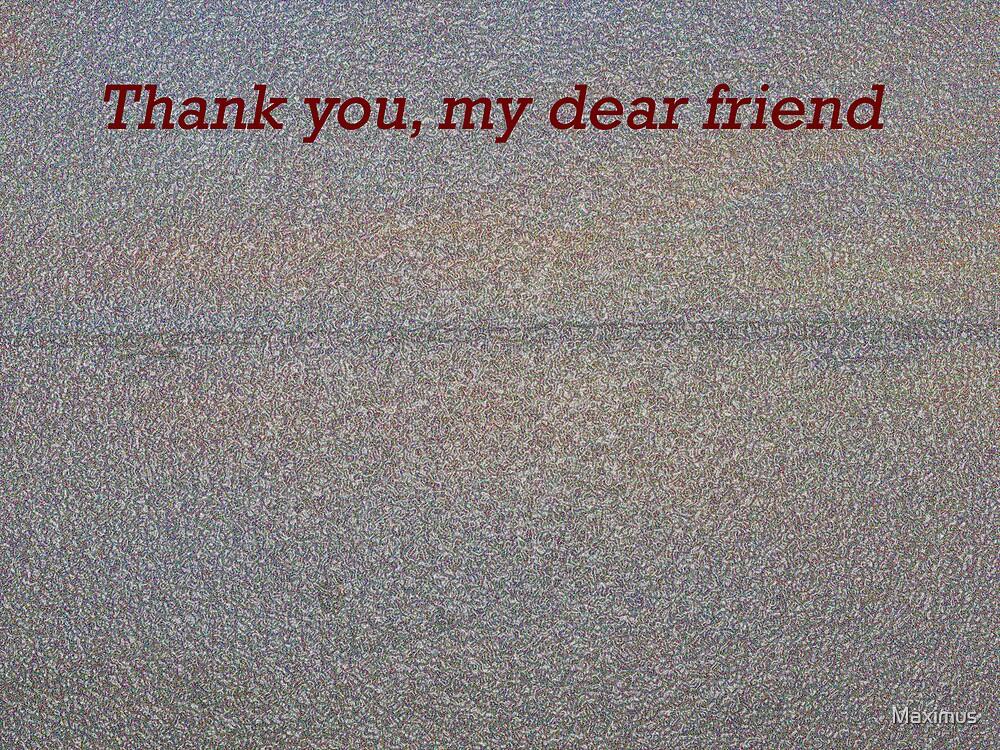 Friend card by Maximus
