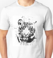 Tiger with ink drops T-Shirt