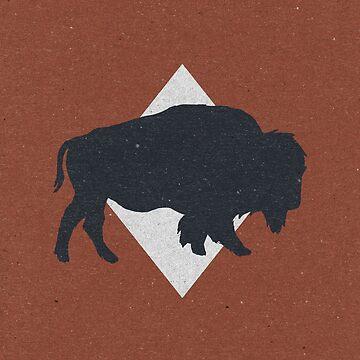 Bison & Blue by ZekeTucker