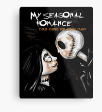 My Seasonal Romance Metal Print