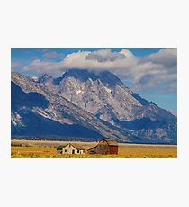 Teton Country Landscape Photographic Print