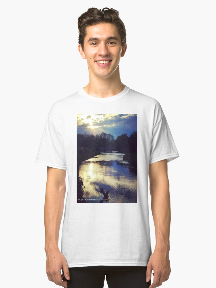 Alternate view of Thoughtful Reflection Classic T-Shirt