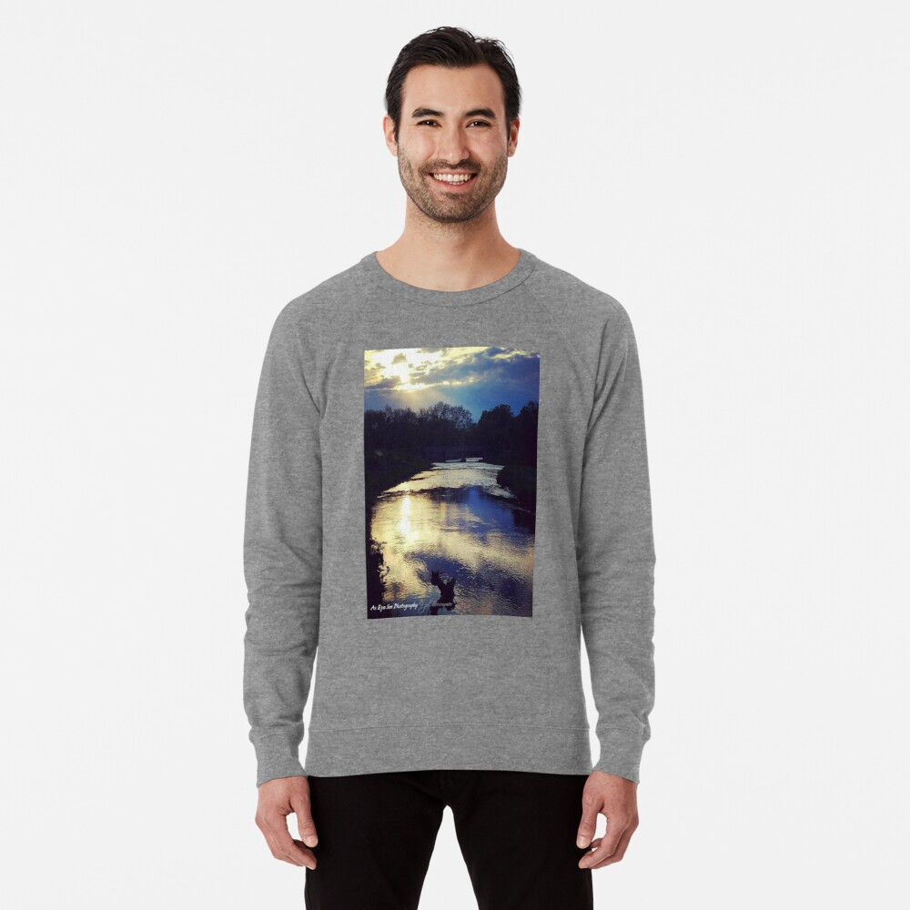 Thoughtful Reflection Lightweight Sweatshirt