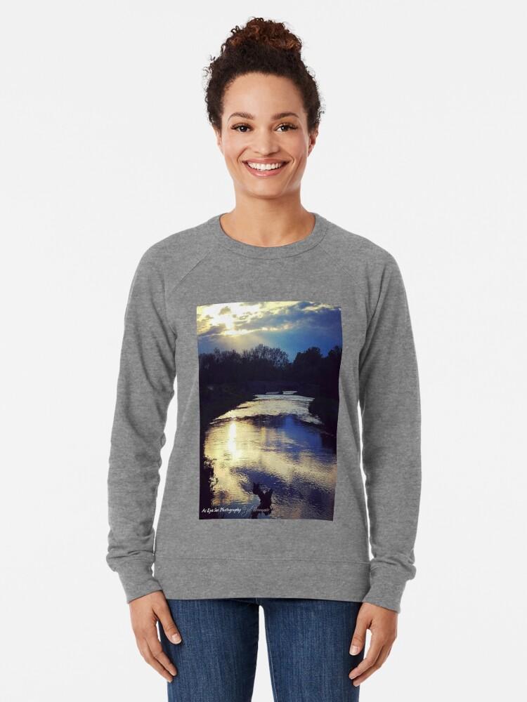 Alternate view of Thoughtful Reflection Lightweight Sweatshirt