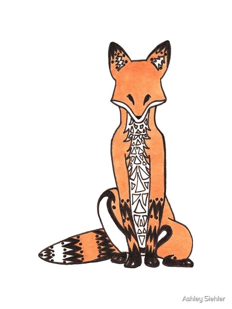 Tribal Fox by Ashley Weiler