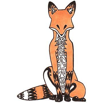 Tribal Fox by WeileAsh