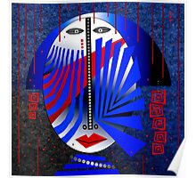 Tribal Whimsy 15 - Poster by Glen Allison