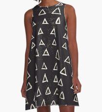 Geometric A-Line Dress