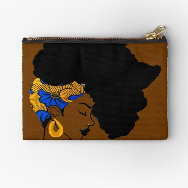 Fro African Zipper Pouch