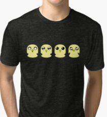 Gunter's Faces Tri-blend T-Shirt
