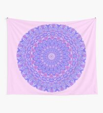 Purple and Pink Mandala Wall Tapestry