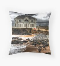 The Arcadia, Portrush, Antrim Throw Pillow