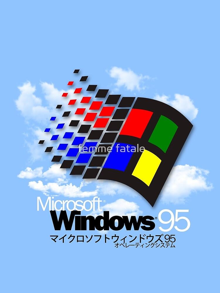 WINDOWS 95 by chocolatepills