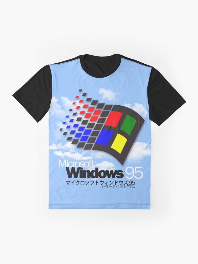 Alternate view of WINDOWS 95 Graphic T-Shirt