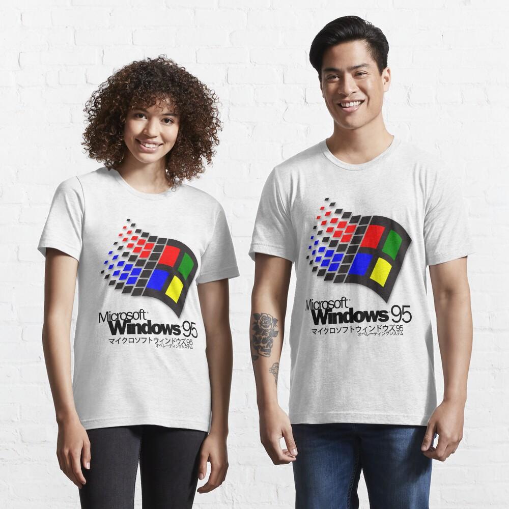 WINDOWS 95 (white/no clouds) Essential T-Shirt