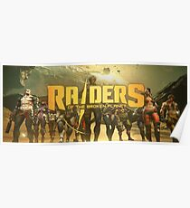 Raiders of the Broken Planet Group Poster