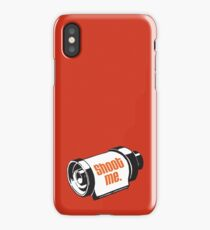 Shoot me 35mm film roll iPhone Case/Skin
