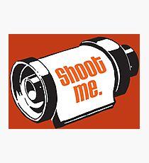 Shoot me 35mm film roll Photographic Print