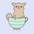 Time for Tea Chihuahua by zoel