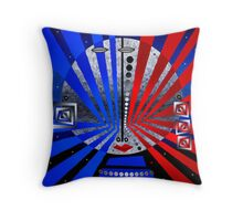 Tribal Whimsy 16 - Throw Pillow by Glen Allison