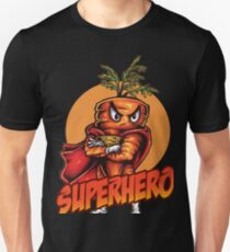The Angry Carrot / Foodietoon SuperHero T-Shirt