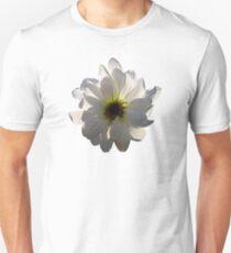 Backlit White Daisy Unisex T-Shirt
