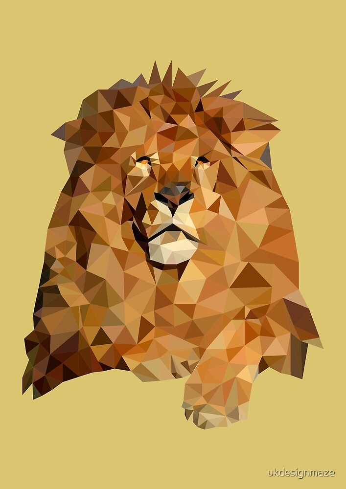 Lion by ukdesignmaze