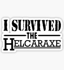 I Survived The Helcaraxe Sticker