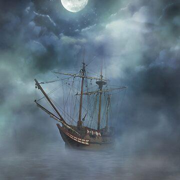 Pirate Ship by serbandeira