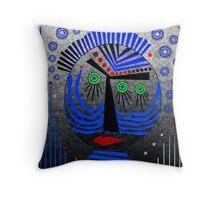 Tribal Whimsy 11 - Throw Pillow by Glen Allison
