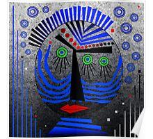 Tribal Whimsy 11 - Poster by Glen Allison