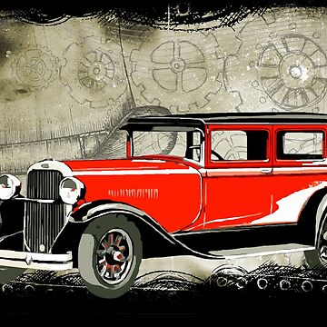 Old car 2 by serbandeira