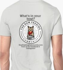 """RFC """"What's in your bowl?"""" cat logo shirts T-Shirt"""