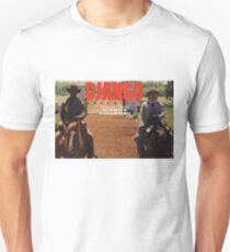 Django Unchained- Django and Dr. King Shultz on Horses Unisex T-Shirt