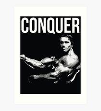Arnold Schwarzenegger Art Print