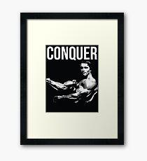 Arnold Schwarzenegger Gerahmter Kunstdruck
