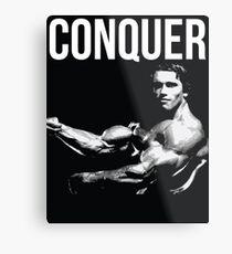 Arnold Schwarzenegger Impression métallique