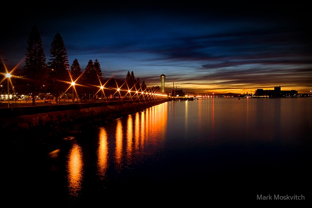 Newcastle Harbour I by Mark Moskvitch