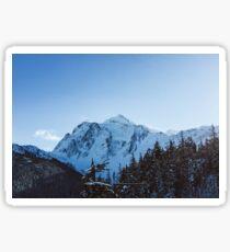 Dat Mountain Life Tho Sticker
