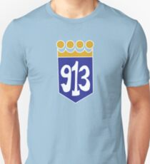913 Area Code Kansas City Royals T-Shirt