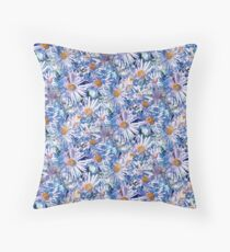 Purple Felicia Throw Pillow