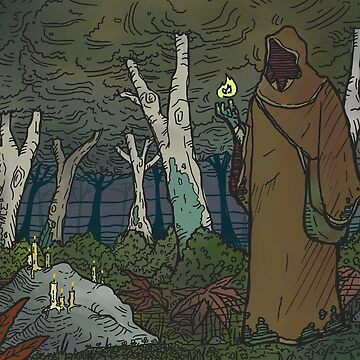 Forest Nomad by WurtIllustrates