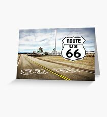 Route 66 Ride Greeting Card