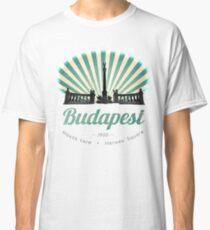 Hősök tere - Heroes' Square - Budapest, Hungary, vintage poster, tshirt Classic T-Shirt